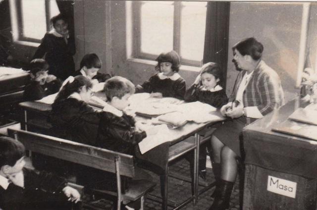 Babaannem Vesile Bekyel, Hekimoğlu Ali Paşa İlkokulu, İstanbul, 1970
