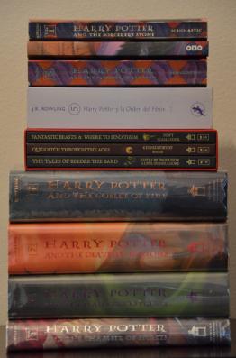 Harry Potter serisinin kitapları